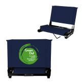 Stadium Chair Navy-Tagline Inside