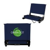 Stadium Chair Navy-Text Across Design