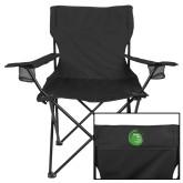 Deluxe Black Captains Chair-Tagline Inside