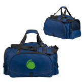 Challenger Team Navy Sport Bag-Green Dot