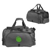 Challenger Team Charcoal Sport Bag-Green Dot