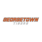 Medium Decal-Stacked Georgetown Mark, 8in Wide