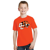 Youth Orange T Shirt-Official Logo