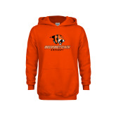 Youth Orange Fleece Hoodie-Archery