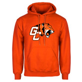 Orange Fleece Hoodie-Official Logo
