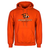 Orange Fleece Hoodie-Archery