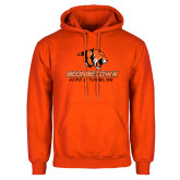 Orange Fleece Hoodie-Acro and Tumbling