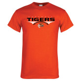 Orange T Shirt-Football Design