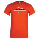 Orange T Shirt-Baseball Design