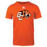 Adidas Orange Logo T Shirt-Official Logo