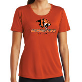 Ladies Syntrel Performance Orange Tee-Alumni