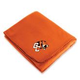 Orange Arctic Fleece Blanket-Official Logo