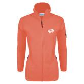Columbia Ladies Full Zip Coral Fleece Jacket-Official Logo