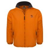 Orange Survivor Jacket-Stacked Georgetown Mark
