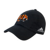 Adidas Black Slouch Unstructured Low Profile Hat-Official Logo
