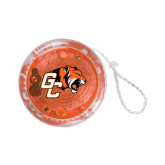 Light Up Orange Yo Yo-Official Logo