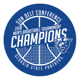Large Decal-Sun Belt Mens Basketball Champions