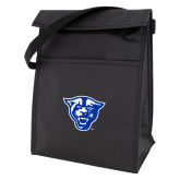 Koozie Black Lunch Sack-Panther Head