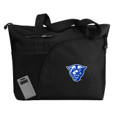 Excel Black Sport Utility Tote-Panther Head