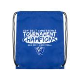 Royal Drawstring Backpack-2018 Tournament Champions