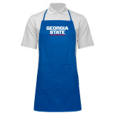Full Length Royal Apron-Georgia State Wordmark