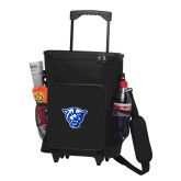 30 Can Black Rolling Cooler Bag-Panther Head