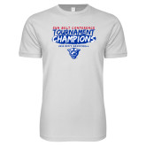 Next Level SoftStyle White T Shirt-2018 Tournament Champions