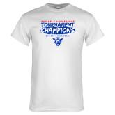 White T Shirt-2018 Tournament Champions