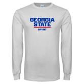 White Long Sleeve T Shirt-Spirit