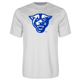Performance White Tee-Panther Head