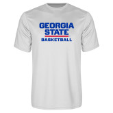 Performance White Tee-Basketball