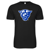 Next Level SoftStyle Black T Shirt-Panther Head
