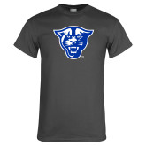 Charcoal T Shirt-Panther Head