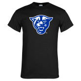 Black T Shirt-Panther Head