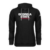 Adidas Climawarm Black Team Issue Hoodie-Georgia State Wordmark