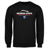 Black Fleece Crew-Georgia State Softball Stacked
