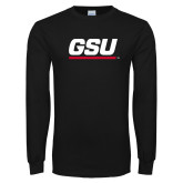 Black Long Sleeve TShirt-GSU