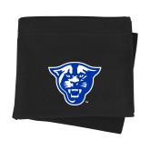 Black Sweatshirt Blanket-Panther Head