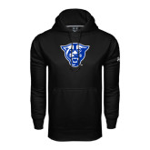 Under Armour Black Performance Sweats Team Hood-Panther Head