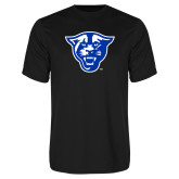 Performance Black Tee-Panther Head