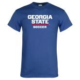 Royal Blue T Shirt-Soccer