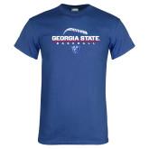 Royal T Shirt-Georgia State Baseball Stacked