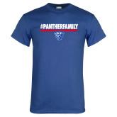 Royal Blue T Shirt-#PantherFamily