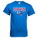 Royal T Shirt-2016 Sun Belt Conference Champions Womens Tennis