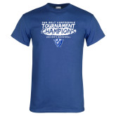 Royal T Shirt-2018 Tournament Champions
