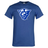 Royal Blue T Shirt-Panther Head