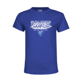 Youth Royal T Shirt-2018 Tournament Champions