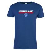Ladies Royal T Shirt-#PantherFamily