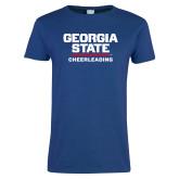 Ladies Royal T Shirt-Cheerleading