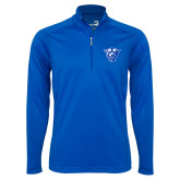 Syntrel Royal Blue Interlock 1/4 Zip-Panther Head